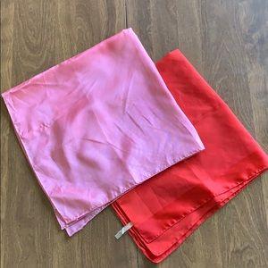 Vintage Japanese scarves